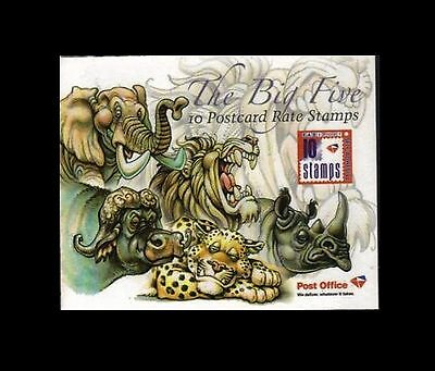 South Africa 2008 The Big 5 Booklet. MNH