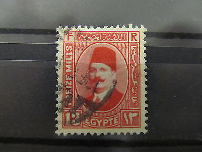 A2P34 EGYPT 1927-37 TYPE II 13m USED #9