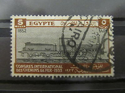 A2P34 EGYPT 1933 5m USED