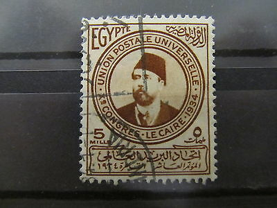 A2P34 EGYPT 1934 5m USED