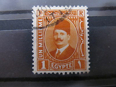 A2P34 EGYPT 1936-37 PERF 13 1/2 1m USED