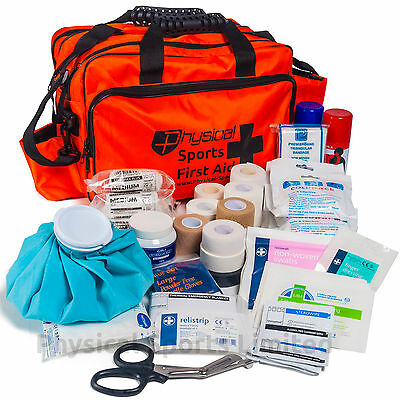 Sports Physio First Aid Kit | Pitchside Medical Bag for Rugby, Football etc.