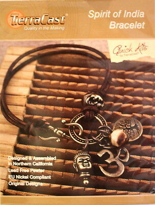 TierraCast, DIY Bracelet Kit, Spirit Of India Bracelet Kit