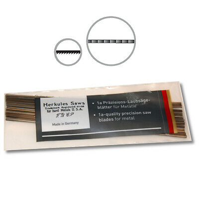 Herkules Brand 1a Precision Jeweler and Goldsmith Metal Saw Blades, 1 Gross