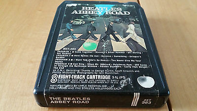 "The Beatles ""Abbey Road"" 8-Track Stereo Beatles Apple 8XT 383"