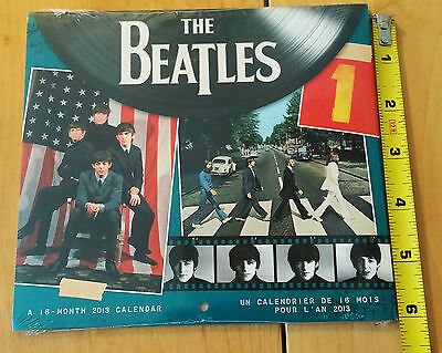 """The Beatles:Mini Calendar 16 month 2013 NEW & SEALED 7"""" x7""""Color Photos DayDream"""