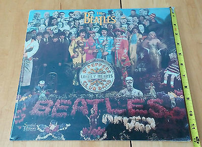 """The Beatles:Calendar Beatles 17months1997-98. NEW+SEALED 12""""X12"""". Day DreamPub."""