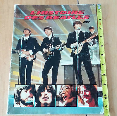 The Beatles: «L'Histoire des Beatles» booklet soft cover in French 65pages