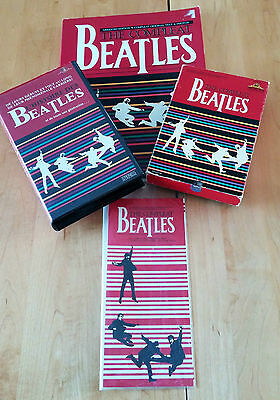 The Compleat Beatles Book + 2 Beta Tapes (English/French) + Pamphlet 1982