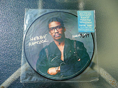 "Herbie Hancock ""Hard Rock"" Picture Disc 12""LP 33Rpm ColumbiaRecords/CBS -RARE-"