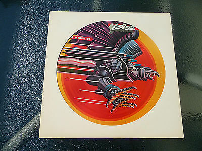 "Judas Priest ""World Tour '82"" Picture Disc 33Rpm 12""Lp PROMO 9Tracks (1982)"