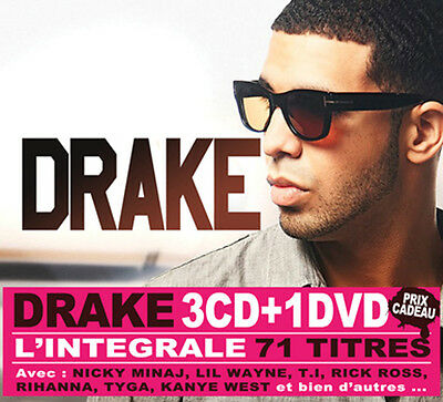 DRAKE Collector BOX 3 CDS + 1 DVD  FREE SHIP
