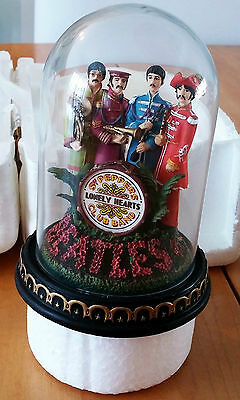 The Beatles Glass Dome Figure Sgt Pepper's Franklin Mint Limited Edition 1993