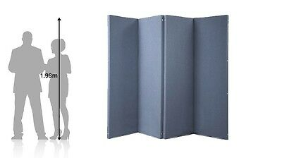 Versifold Acoustic Portable Room Divider for Office, Home, Retail, Cafe or Cl...