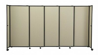 StraightWall Acoustic Portable Partition (Fabric) for Office, Home, Retail, C...