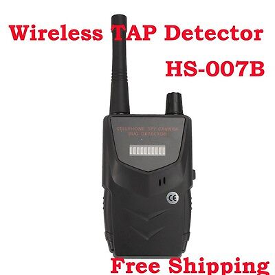 New HS-007B Wireless RF Signal Bug Wireless Camera Spy Detector -Detect WiFi