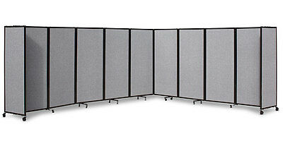 360 Acoustic Portable Room Divider (Fabric) for Office, Home, Retail, Cafe or...