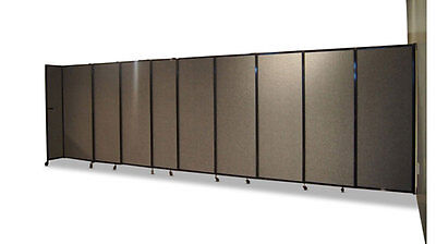 StraightWall Acoustic Partition Wall-Mountable (Fabric) for Office, Home, Ret...