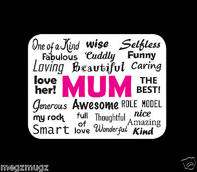 MUM Fridge Magnet great Birthday Christmas Mother's Day gift!