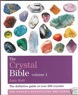 THE CRYSTAL BIBLE By Judy Hall - Brand New