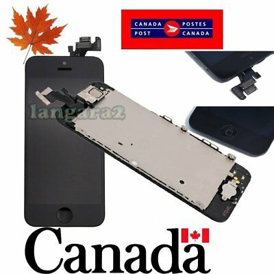 Replacement for iPhone 5 LCD Touch Screen Digitizer  Assembly with camera button
