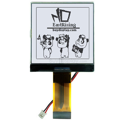 """3V 2.5""""/128x128 Dots Graphic LCD Module Display,ST7541 w/Tutorial,Connector"""