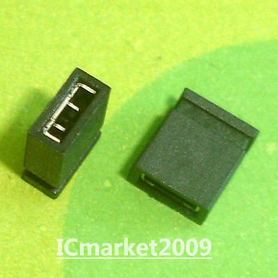1000 PCS 2.54mm Standard Circuit Board Jumper Cap Shunts Short Circuit Cap