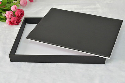 11 3/4inch PADDED FLAT JEWELRY DISPLAY TRAY WITH REVERSABLE PAD DOUBLE SIZE USED