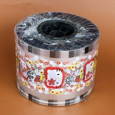 Milk sealing film tea cup seal Hello Kitty printing healthy material 3000 Cups