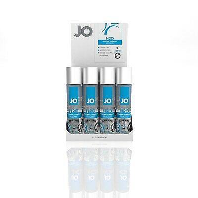 System JO H2O Water Based Personal Lubricant Anal Vaginal Silky Lube