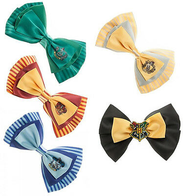 Harry Potter Dual Purpose Hair Clip/Bow Tie Gryffindor/Hogwarts - New Official