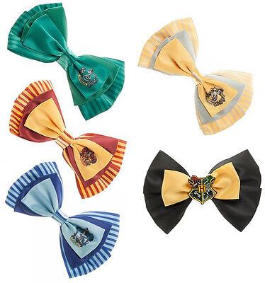 Harry Potter Dual Purpose Hair Clip/Bow Tie Gryffindor/Hogwarts New + Official