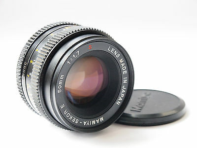 Mamiya Sekor E 50mm f/1.7 S lens in excellent condition serial No 36862