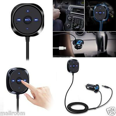 Bluetooth4.1 Wireless Car Kit AUX Audiomusik Empfänger 3.5mm adapter Handsfree