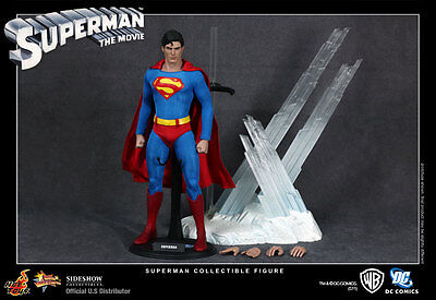 "Superman Christopher Reeve Man of Steel MMS 12"" Figur Hot Toys"