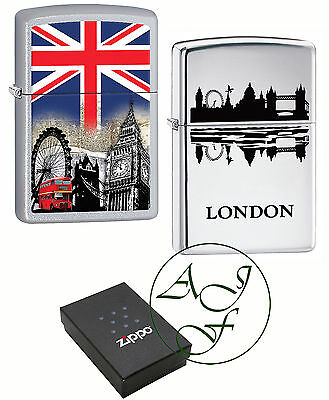 Personalised Engraved London Capital England Zippo Lighter Souvenir Pride Gift