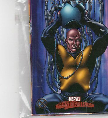2007 Marvel Masterpieces X-Men 9 card subset