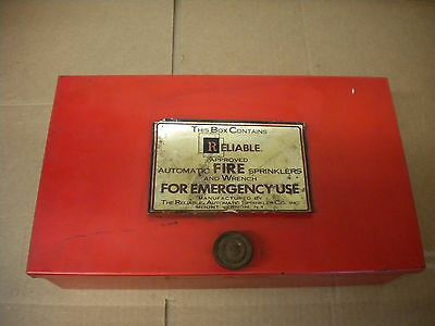 Reliable Automatic Sprinkler Co. Box  Fast/free Shipping
