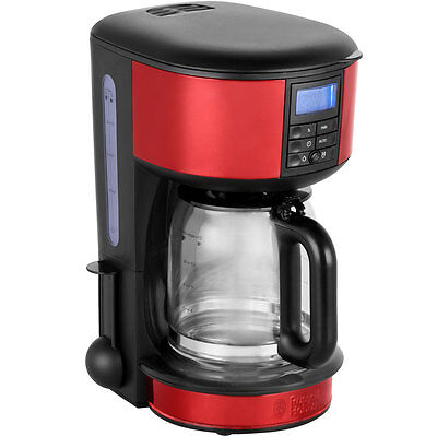 Russell Hobbs 20682 Legacy Filter Coffee Machine with Timer Red New from AO