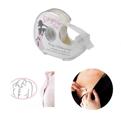 Women double sided lingerie tape adhesive for clothing for Double sided tape for wedding dress