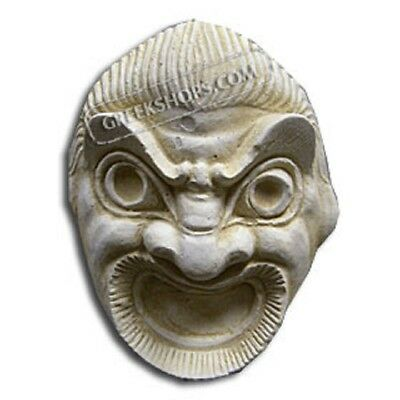 Ancient Greek Comedy Magnet, Made of Casting Stone