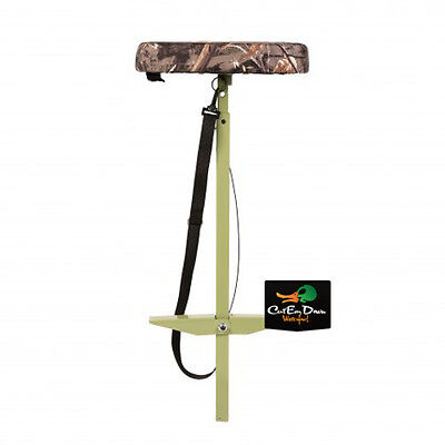 New Tanglefree Puddle Stool Swamp Seat Blind Hunting Chair Padded Max-5 Camo