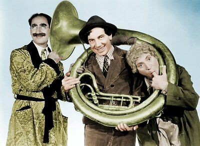 Marx Brothers # 10 - 8 x 10 Tee Shirt Iron On Transfer