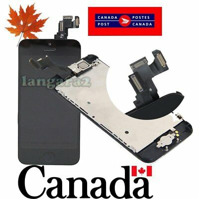 Replacement for iPhone 5C LCD Touch Screen Digitizer  Assembly + camera button
