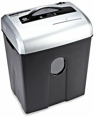 AmazonBasics 12-Sheet Cross-Cut Paper CD and Credit Card Shredder