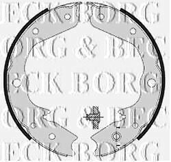 BORG & BECK BBS6361 BRAKE SHOES fit Vauxhall Frontera 4/95 - 12/03