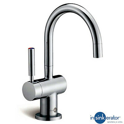 Insinkerator Ise Brushed Steel Steaming Hot Kitchen Sink Kettle Tap H3300BR (P)