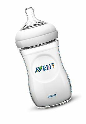 Philips Avent BPA Free Natural Polypropylene Bottle 11 Ounce 3-Count Clear