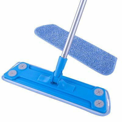 MR. SIGA Microfiber Floor Mop 4 holes in the side can use dry wipes {SJ21543}