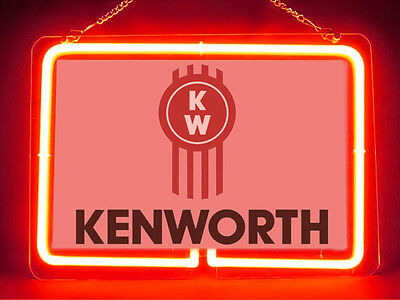 Kenworth Garage Service Parts Display Decor Neon Sign